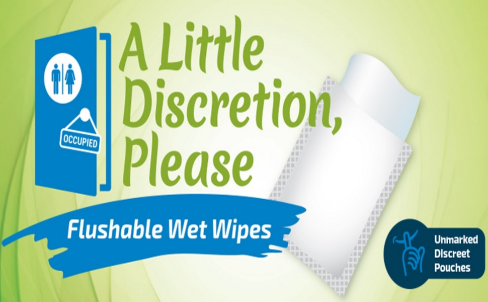 flushable wipes for adults