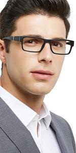 OCCI CHIARI Men's Reading glasses Stylish Reader 1.0 1.5 2.0 2.5 3.0 3.5
