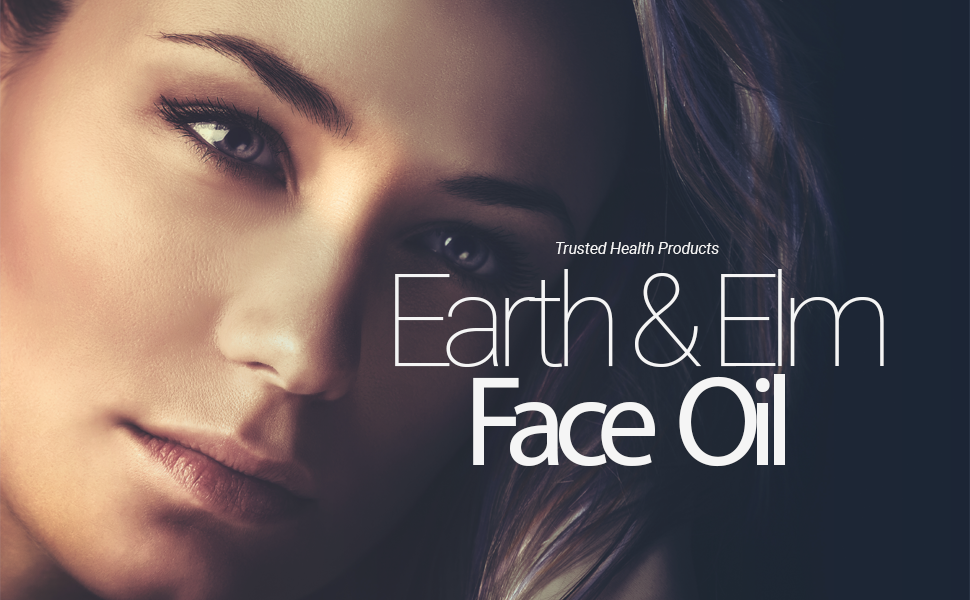 Earth & Elm Nourishing Face Oil orange nature