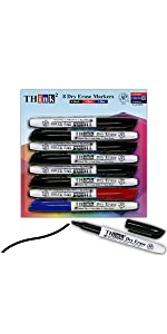 Markers  8 Dry Erase Markers