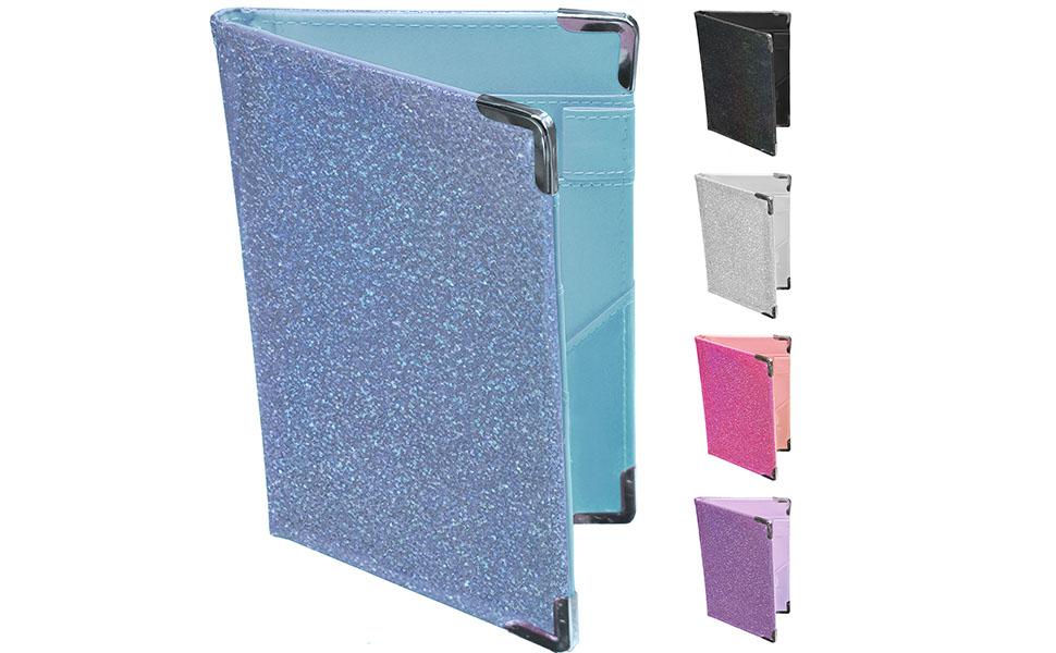 Blue Glitter Server Book