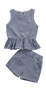 black baby girl plaid clothes