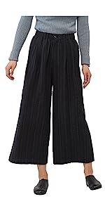 Womens Linen Cotton Pants