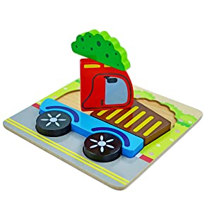 toddlers wooden puzzles