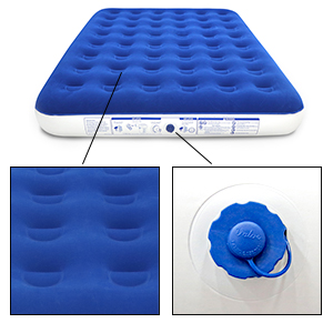 enerplex camp bed portable inflatable blow up bed external wireless pump camp bed