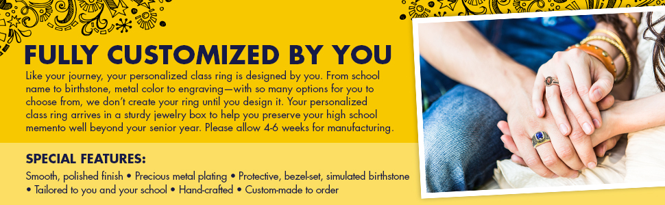 Fully Customized Mementos Jewelry - Created Just for You