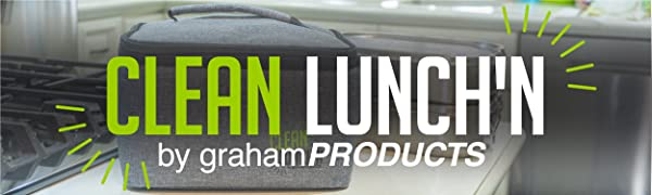 Clean Lunch'n lunch box for taking food to work