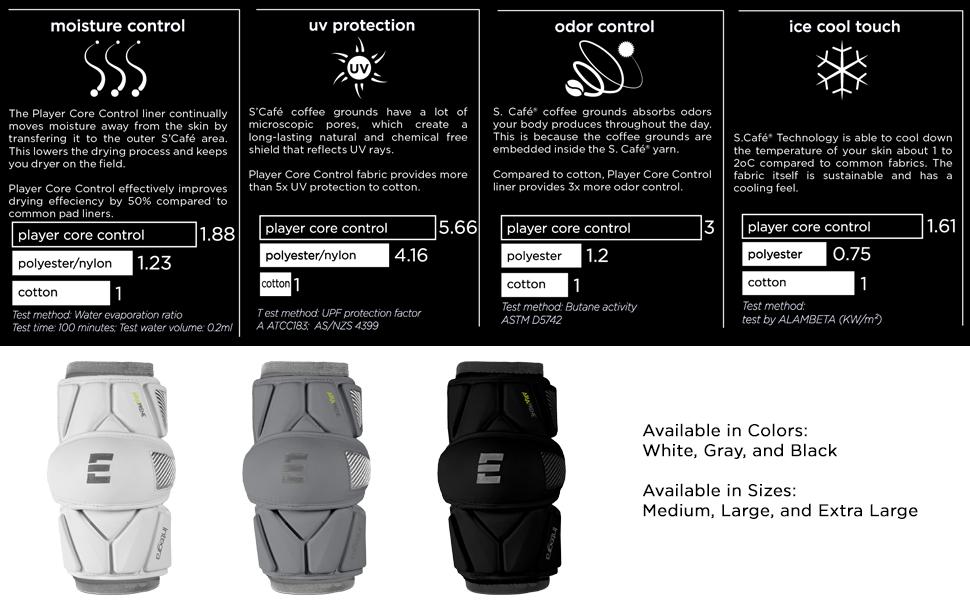 adult arm armpad athletic boy cap defense defensive elite epoc epoch epock extra forearm gaurd gear