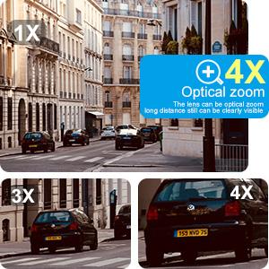 4X Optical Zoom