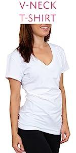 vneck tee shirt sexy basics v neck t shirt