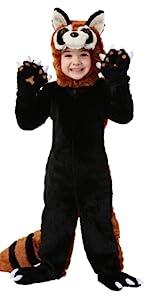 red panda, panda, animal, zoo, costume