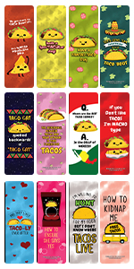 Funny Tacos Puns  Jokes Bookmarks