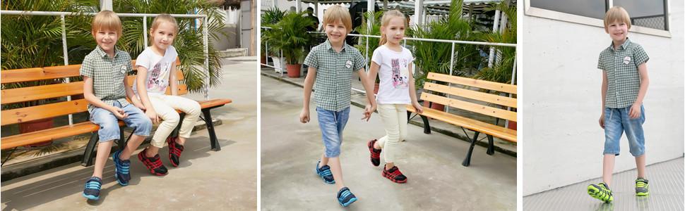 Kids casual sneakers
