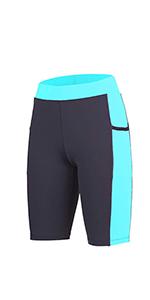 Women bike shorts with Pockets