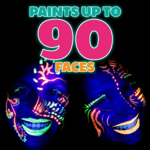 Paints up to 90 faces