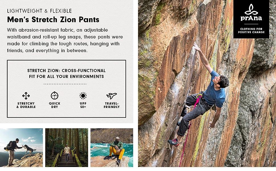 Men's Stretch Zion Pants