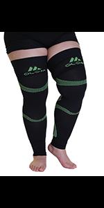 mojo compression thigh high sleeve