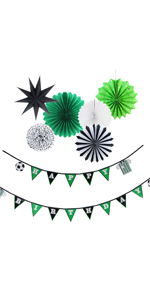 Soccer Themed Kids Birthday Party Decorations