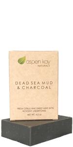 Dead Sea Mud & Charcoal Soap