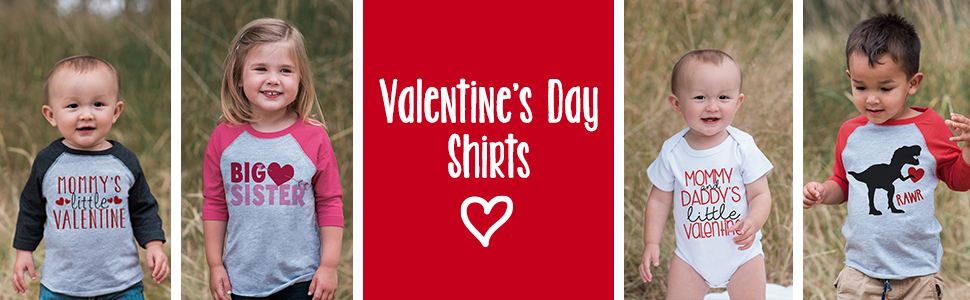 7 ate 9 Apparel Valentine's Day Shirts for Kids