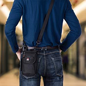 crossbody phone case Galaxy Note 9 8 54 3 2 belt pouches waist bag