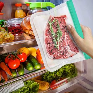 reusable ziploc bags dishwasher safe bpa free