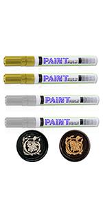Golden Wax Seal Stamp Pen Silver Wax Seal Stamp pen