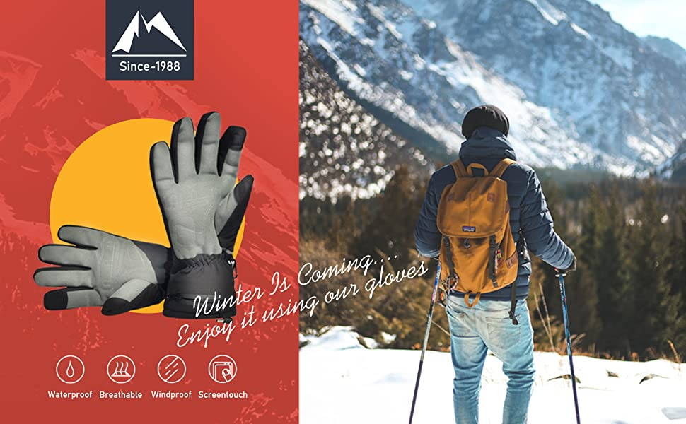 Aroma Season Heated Gloves