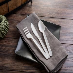 Premium Elegant Heavyweight Disposable Cutlery Utensils Silverware