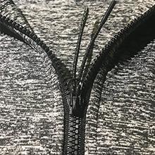 Reflective Zipper Drawstring