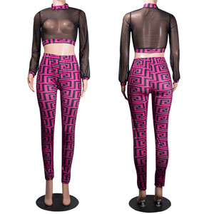 Purple Two Piece Outfits for Women
