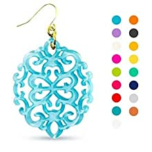 Acrylic Resin Earrings, 1 Pair Earrings for Women Drop and Dangle Statement Earrings Fashion Jewelry