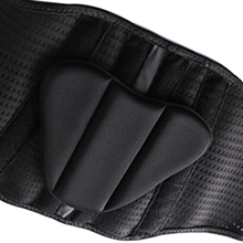 Removable lumbar pad support