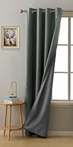 total blackout curtains grey curtains curtains for bedroom