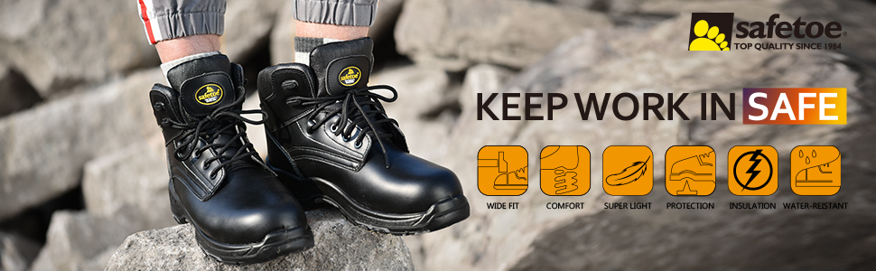 safety work boots steel toe boots safety boots