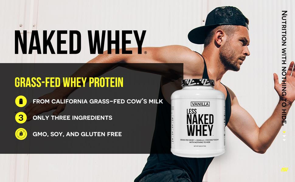 grass-fed vanilla whey protein powder, vanilla whey protein powder, 5lb vanilla whey protein
