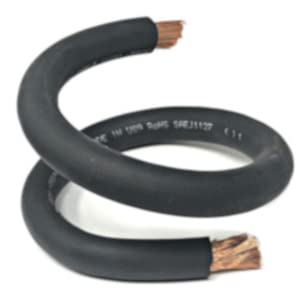 black welding battery flexible cable