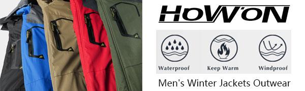 men's winter coats jackets for men cold mens snow jacket waterproof coats for men winter jacket