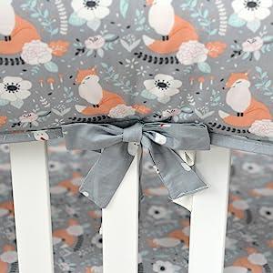 so cute crib rail cover