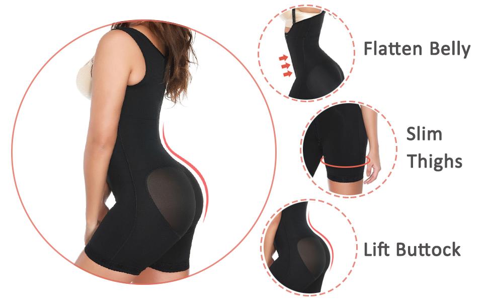 extra firm tummy slimming bodysuit
