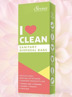 sanitary disposal bags