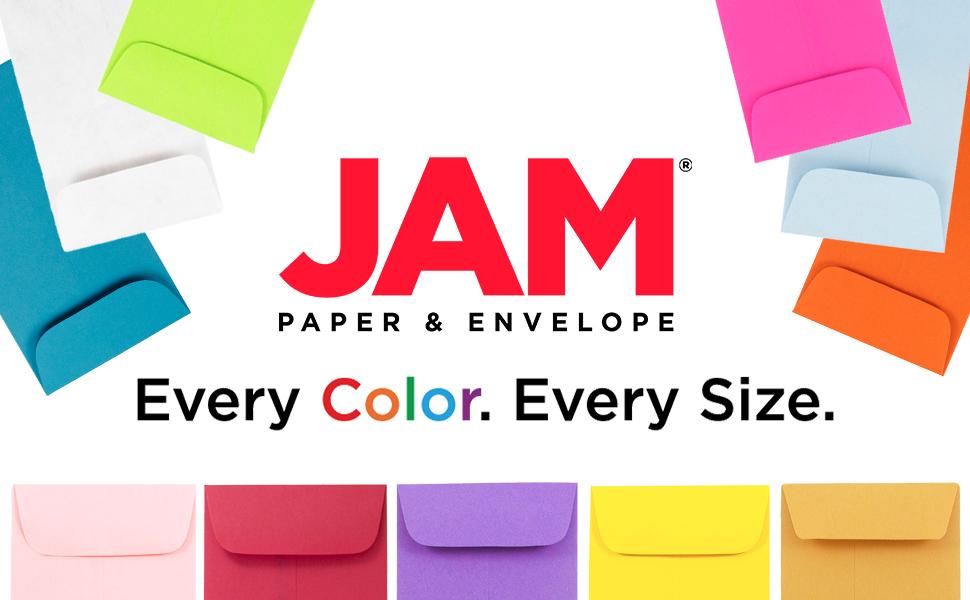 jam paper number 7 coin envelopes