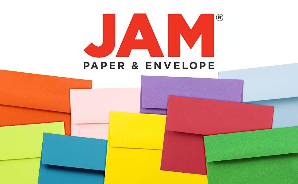 jam paper A1 4bar colored envelopes