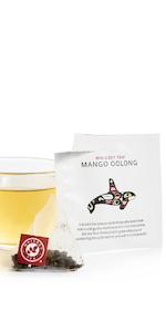 mango oolong fruit black tea