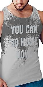 Sweat Activated Tank Top, Motivational Shirt, Hidden Message Shirt