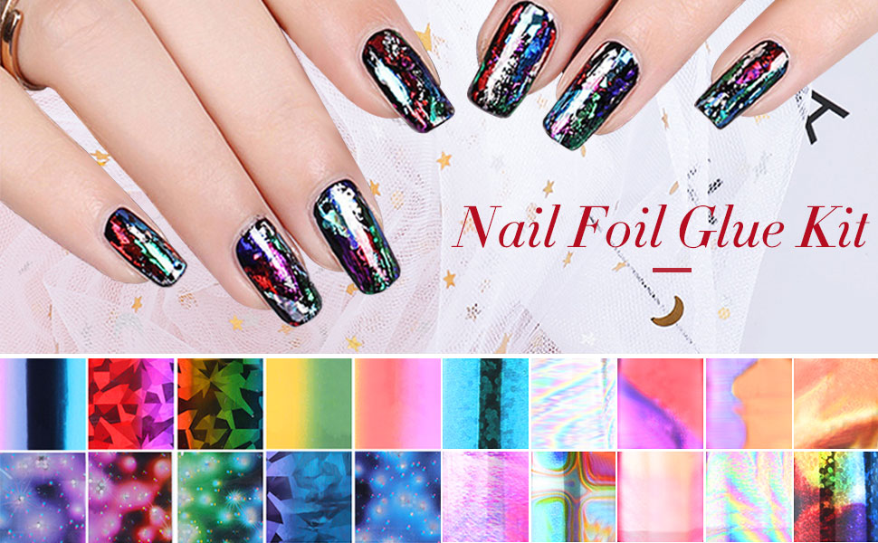 Nail Art Foil Glue Gel