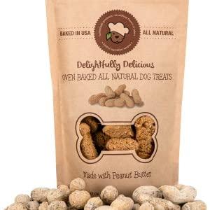 all natural organic peanut butter dog treats