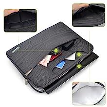 MOSISO Laptop Shoulder Bag Compatible 13-13.3 Inch MacBook Pro, MacBook Air, Notebook Computer,