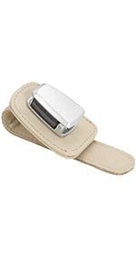 Car Visor Sunglasses Leather Holder