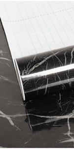 balck marble contact paper